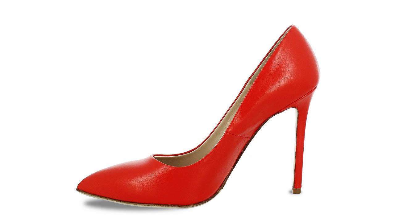 новые туфли из кожи