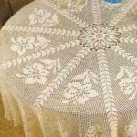 филейная скатерть на стол
