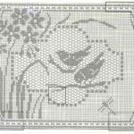 схема салфетки с птиуцами