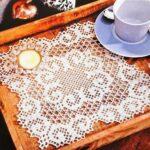 филейная салфетка для чая