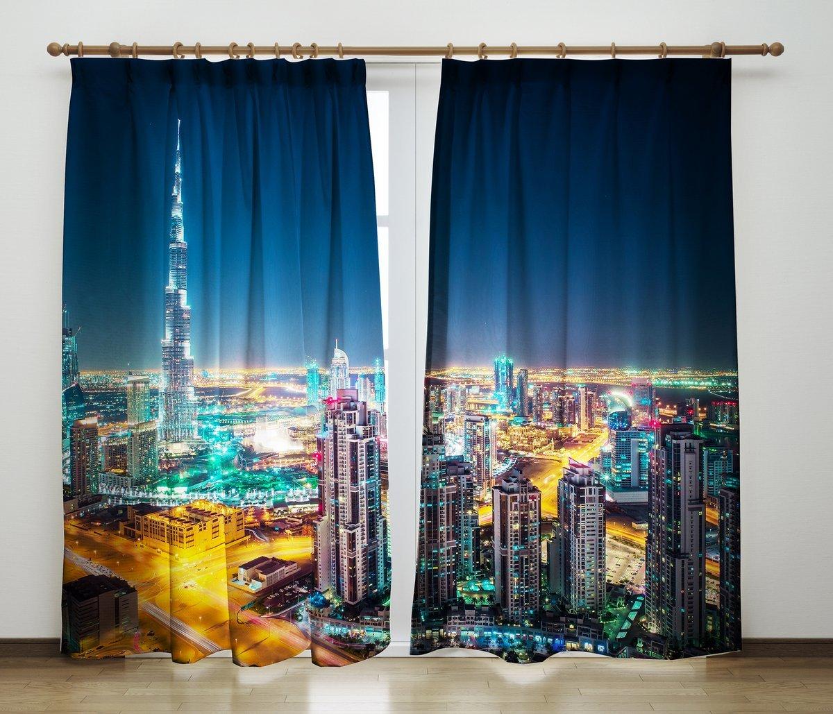 Изготовить шторы с фотопечатью модные
