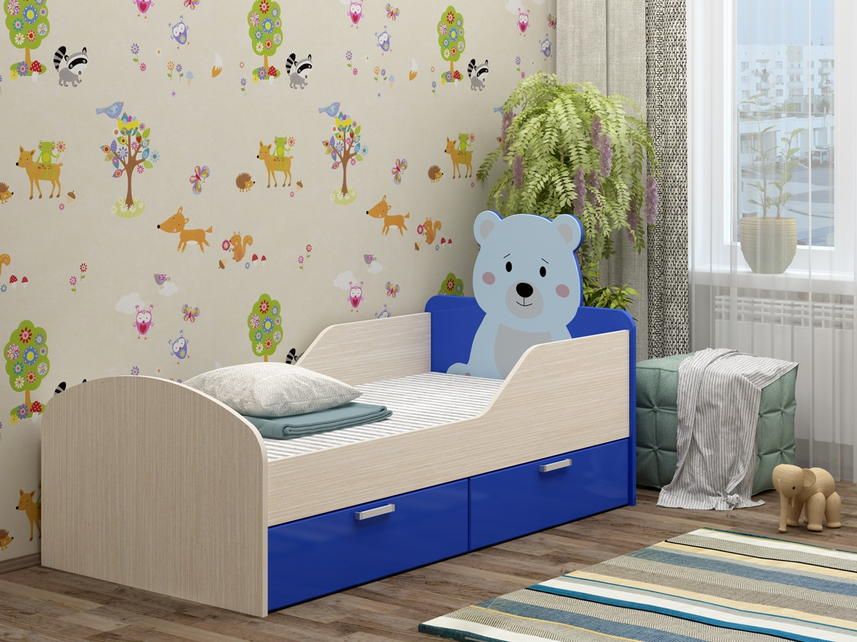 габариты детской кровати