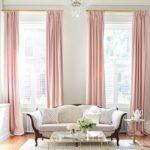 греческие шторы розовые