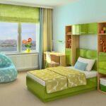 греческие шторы зеленые