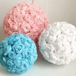 шары из роз