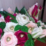 большой букет из цветов