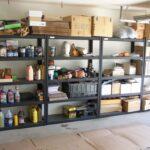 самодельная полка в гараже