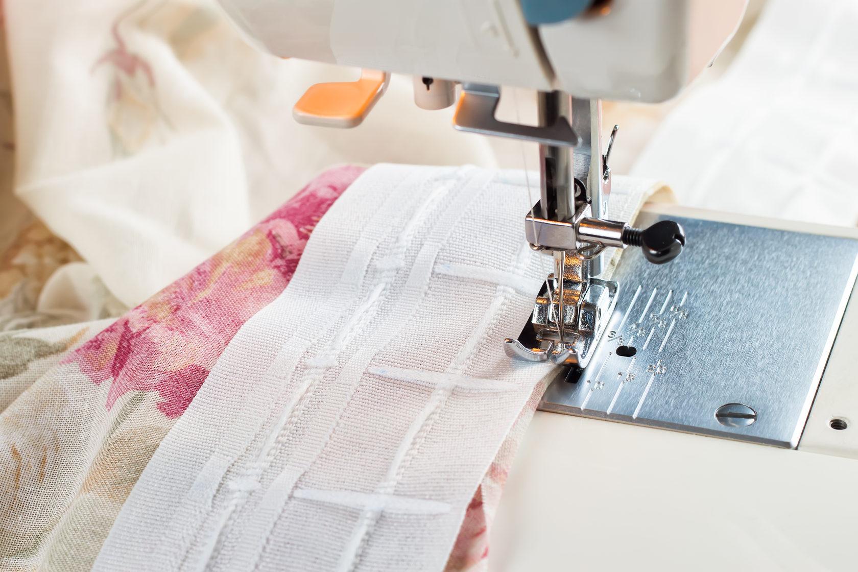 использование швейной машинки