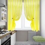 шторы желтые