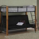 двухъярусная кровать с диваном для маленькой комнаты