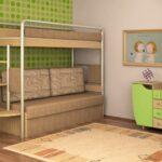 плюсы и минусы двухъярусной мебели