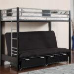 виды двухъярусных кроватей с диваном