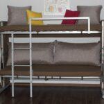 самый простой вариант двухъярусной кровати
