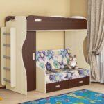 варианты размещения двухъярусных кроватей