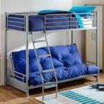 диван-кровать синего цвета