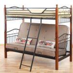 двухъярусная кровать с диваном еврокнижкой