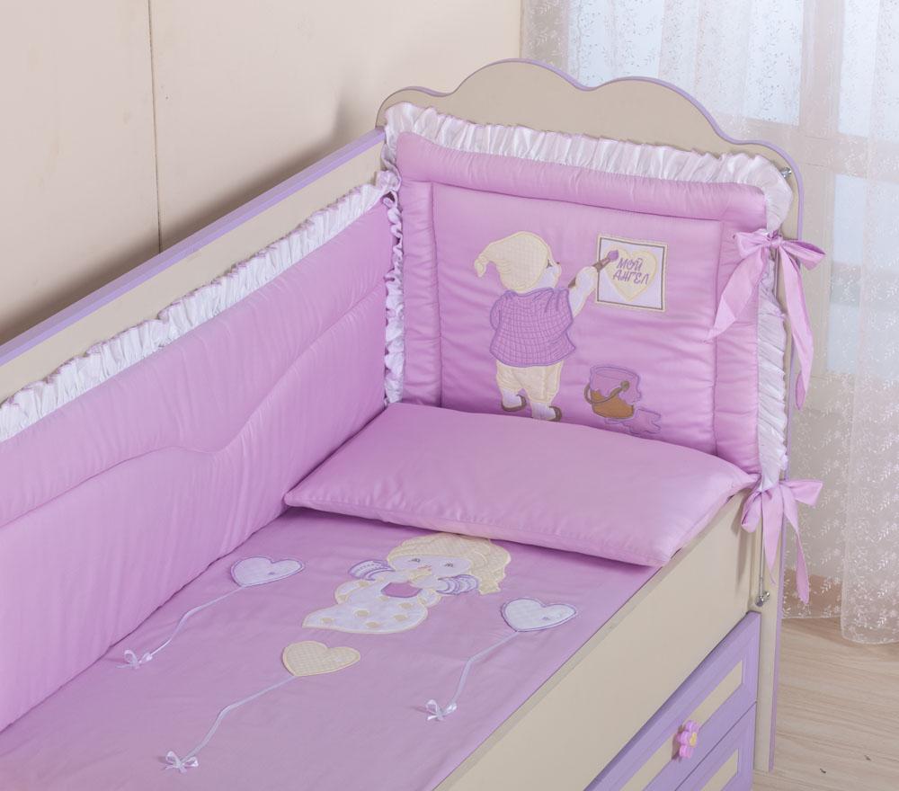 детское постельное бельё для новорожденного
