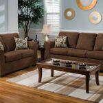 коричневый диван декор фото