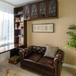 коричневый диван фото варианты