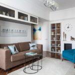 коричневый диван фото вариантов