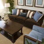 коричневый диван идеи вариантов