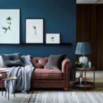 коричневый диван виды дизайна