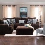 коричневый диван идеи дизайн