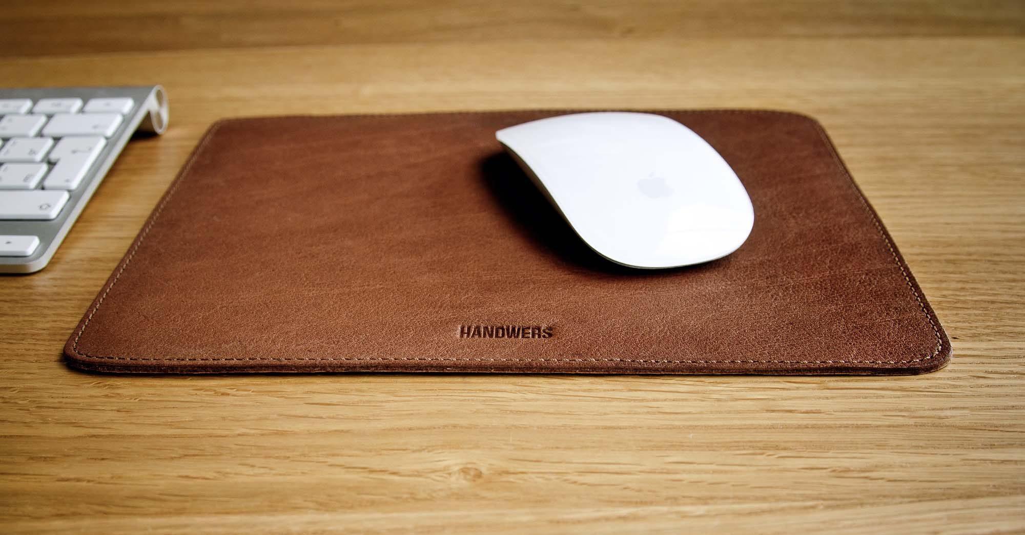 коврик для мыши из кожи фото
