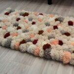 коврик из помпонов фото видов