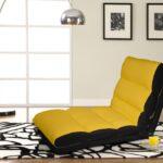 кресло-кровать желтое