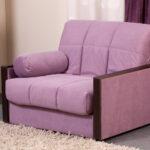 кресло-кровать лиловое