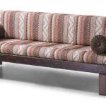 диван-кровать икеа в полоску