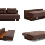 диван-кровать икеа коричневый