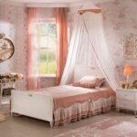 кровать для подростка с балдахином