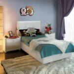 большая кровать в комнату подростка