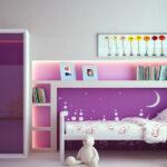 компактная детская кровать