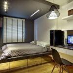 кровать подиум декор фото