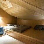кровать подиум фото интерьер