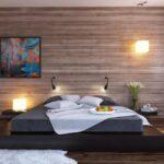 кровать подиум интерьер идеи