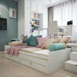 кровать подиум идеи оформления