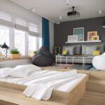 кровать подиум варианты идеи