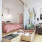 кровать подиум виды идеи