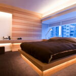 кровать подиум дизайн фото
