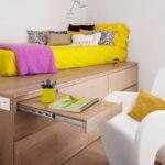 кровать подиум идеи декора