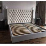 кровать с ортопедическим основанием идеи декор