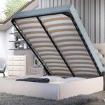 кровать с ортопедическим основанием декор