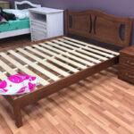 кровать с ортопедическим основанием идеи декора