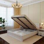 кровать с ортопедическим основанием интерьер фото