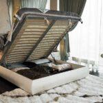 кровать с ортопедическим основанием идеи интерьер