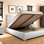 кровать с ортопедическим основанием фото оформление